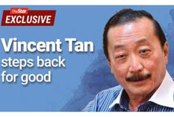 Vincent Tan passes the baton