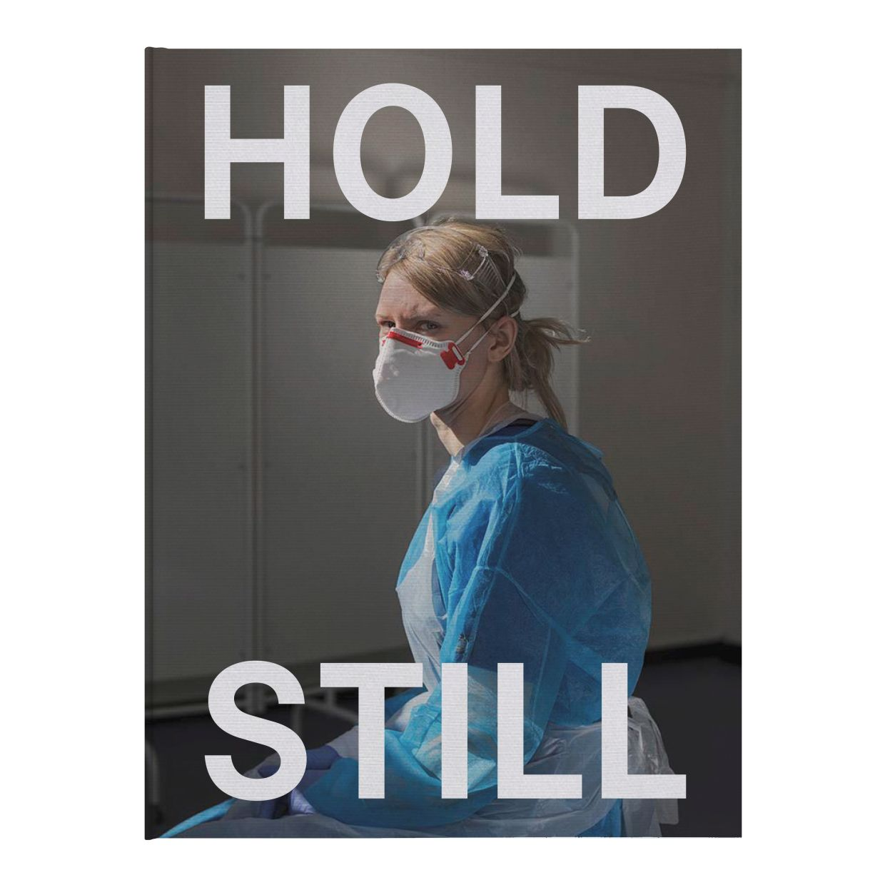 The front cover of the new book 'Hold Still: A Portrait Of Our Nation In 2020'.