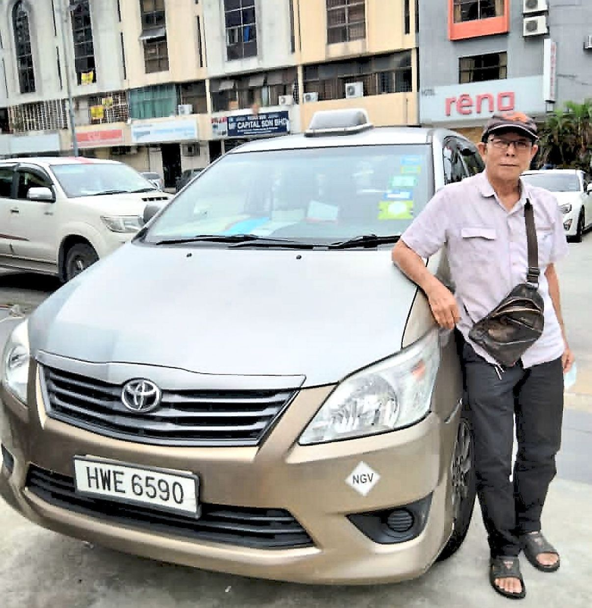 Lim's adult daughters pooled money to help him manage his household expenses while he took a break from driving his taxi during the early days of the MCO last year. He has since resumed driving as demand is better now.