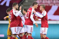 Record-breaking Denmark thrash Moldova 8-0