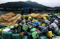 North China port returns half million tonnes of illegal solid waste