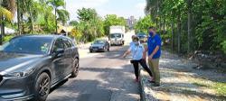 Poorly repaved road upsets Taman Bukit Kuchai folk