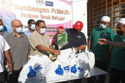 Essential items for 10,000 needy households