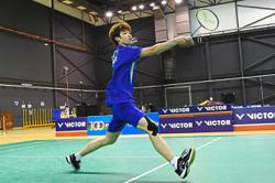 Back-up shuttler hoping for national call-up after success in Poland