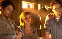 Did actress Emma Watson 'storm off the set' of 2013's 'This Is The End'?