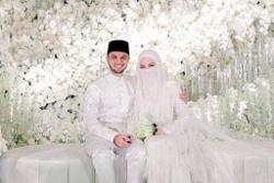 Cops take statements from Neelofa's family over alleged Covid-19 SOP breaches at her wedding