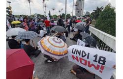 Cops take statements from eight over Undi18 demo