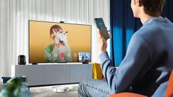 TV screen offers seamless transition to smart home