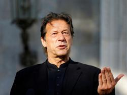 Pakistan PM Khan desires peace with arch-rival India
