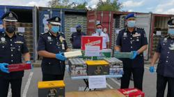 Sarawak marine police foil RM21.5mil contraband smuggling bid