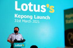 Lotus's Malaysia launches flagship store in Kepong