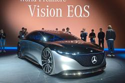 Mercedes to unveil AMG version of electric EQS