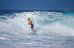 Surfing: Mask-free! Florence resumes Olympic preparations Down Under