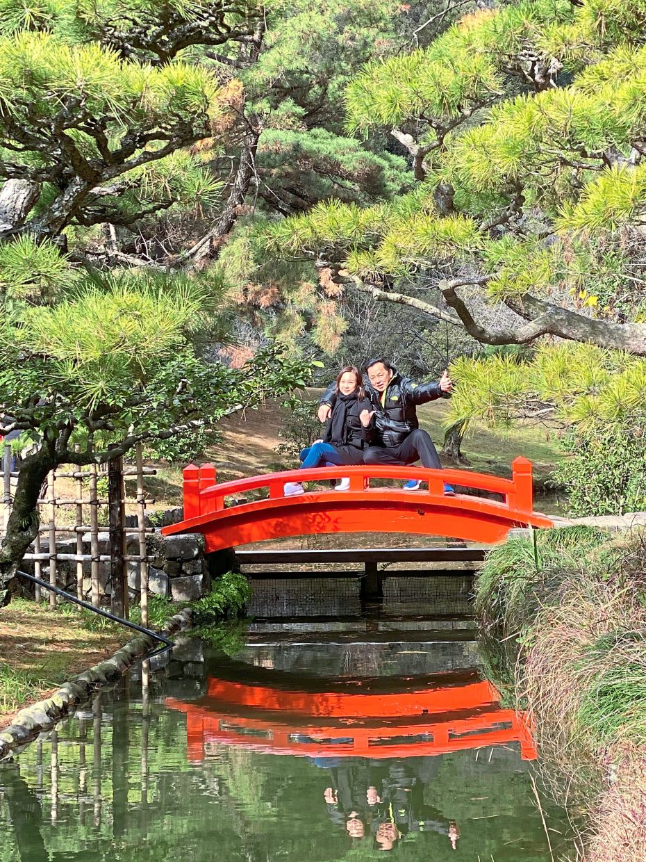 Ritsurin Garden, one of the three most renowned historical gardens in Japan.