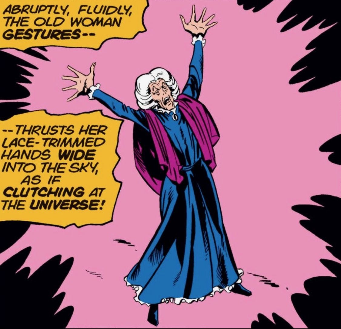 Agatha is considered one of the most powerful magic-wielders in the Marvel universe.
