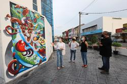 Urban canvas for young artists