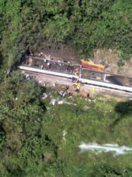 Taiwan train crash kills 36 in deadliest rail tragedy in decades (update)