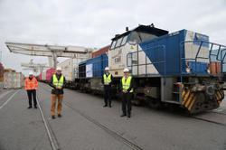 China Focus: China-Europe freight train service excels amid global logistics challenges