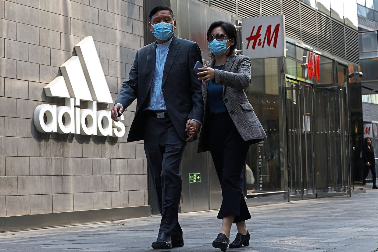 According to media reports, Germany's Adidas saw its share price plunge by over 6% on March 25.