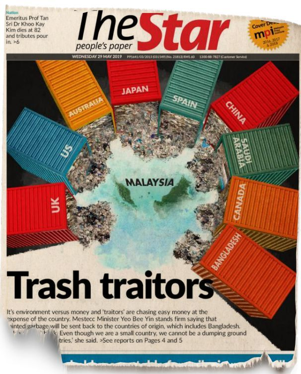 Flashback: Our front page report published on May 29, 2019.