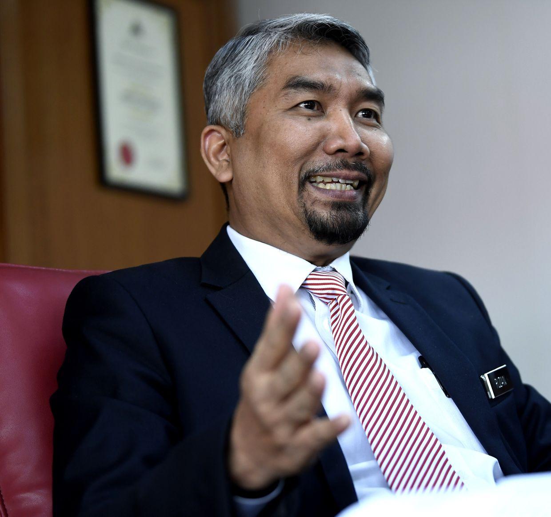 Datuk Ruzain Idris. Photo: Bernama