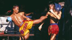Muay Thai boxer fights his way out of the mountains