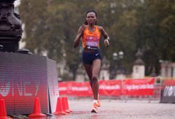 Athletics - Kenya's Chepngetich breaks half marathon record in Istanbul
