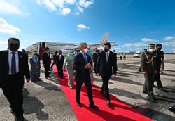 PM arrives in Brunei for two-day visit