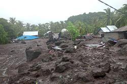 44 killed in flash floods and landslides