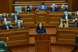 Kosovo parliament elects Vjosa Osmani as new national president