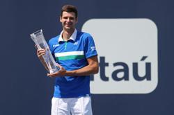 Poland's Hurkacz savours breakthrough victory at Miami Open