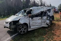Senior citizen dies after car hits wild boar in Kota Tinggi