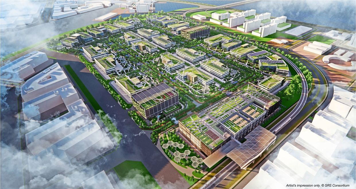 The first development will be the Green Tech Park with vacant possession ready by 2023.