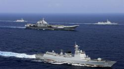 Japan sends destroyer after China's Liaoning aircraft carrier group spotted passing Okinawa