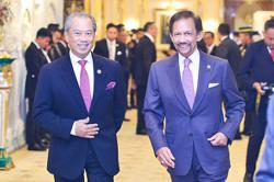 Brunei and Malaysian leaders discuss cooperation in vaccine diplomacy; announce Asean meeting on Myanmar