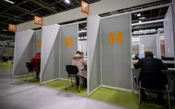 EU expects to vaccinate majority by end-June - Bloomberg