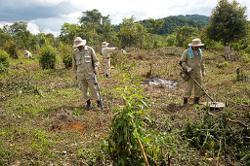 Laos govt says unexploded bomb-mine (UXO) clearance authority needs more funding