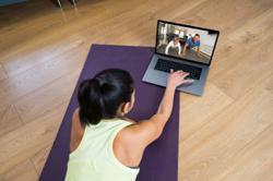 Online fitness classes go mainstream