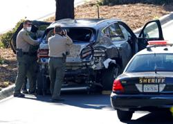 Excessive speed was primary cause of Tiger Woods car crash - LA County Sheriff