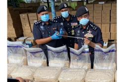 Cops seize 650kg of drugs worth RM200mil at Port Klang