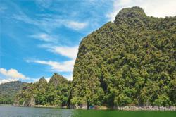 Lake Kenyir is a man-made wonder for eco-tourists and naturalists