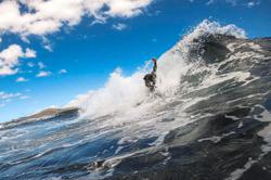 The thrill of bodysurfing in Cape Town