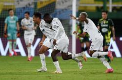 Palmeiras win South American Supercup first leg