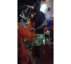 Fire injures two Romanian crew of vessel off Port Dickson