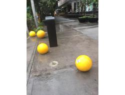DBKL on the hunt for culprits who destroyed security bollards in city centre