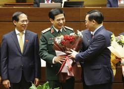 Vietnam wraps up parliament session with election of new leaders