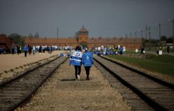 Holocaust survivors join virtual March of Living ceremony at Auschwitz