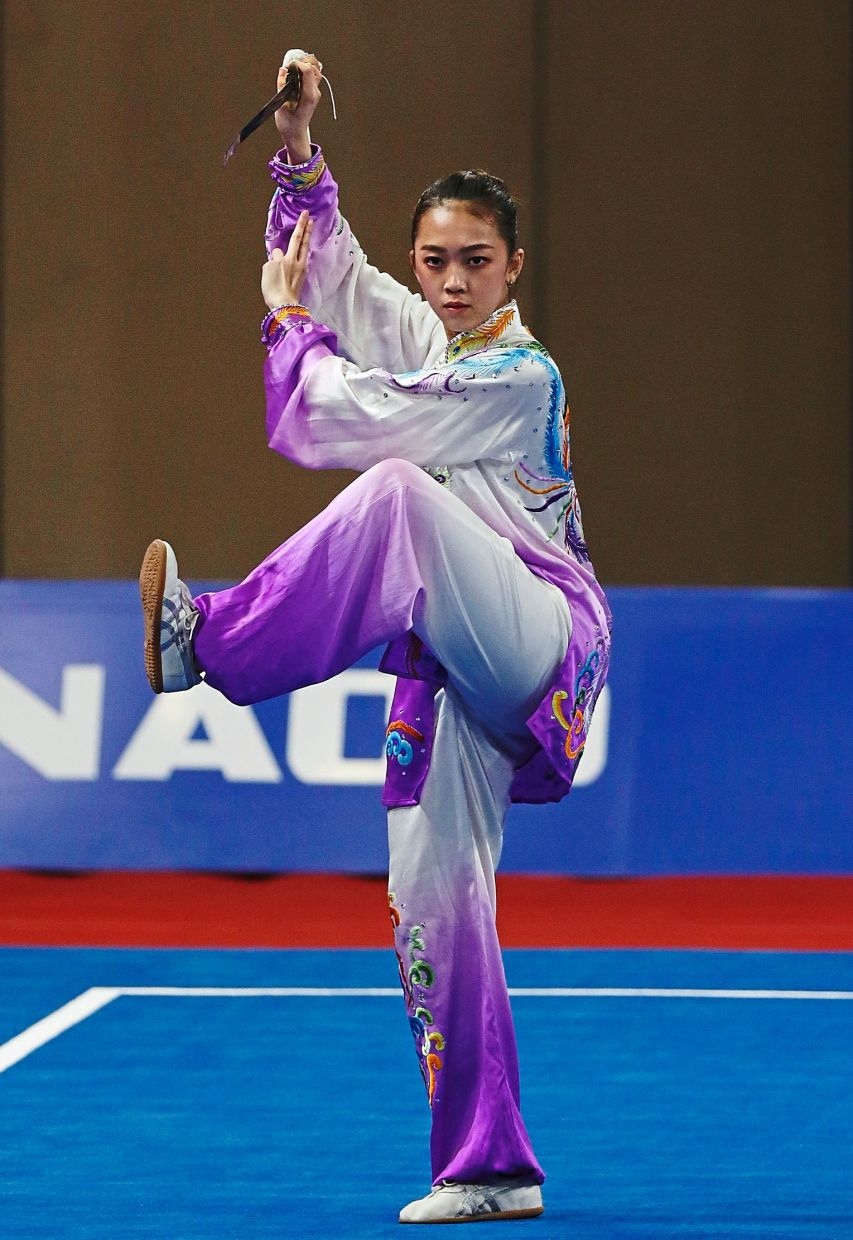 Wushu is also a full-contact sport. - Filepic