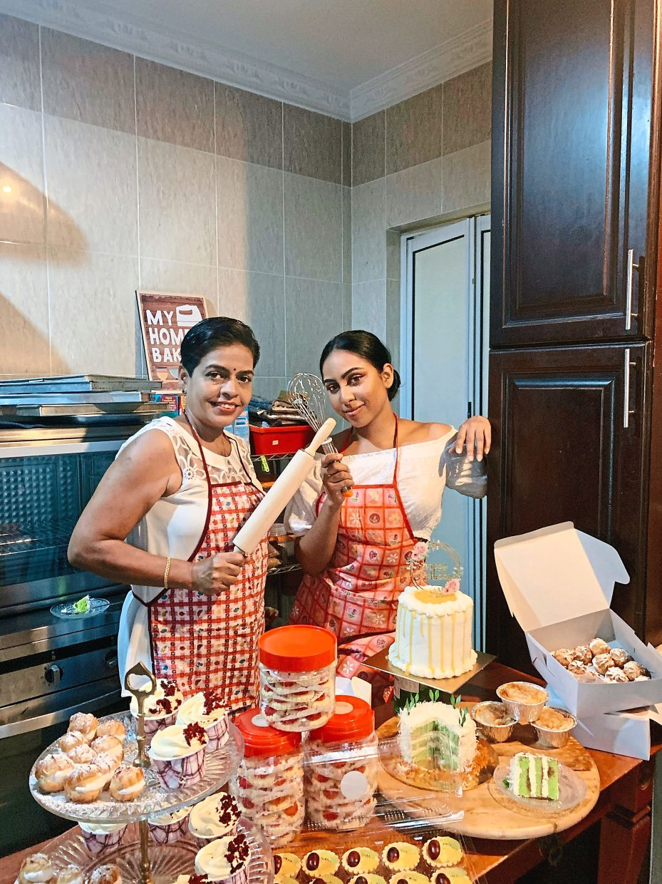 Lavania has teamed up with her mother to start a baking business.