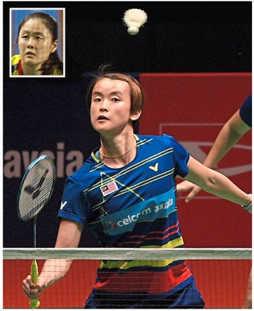New partnership: Vivian will pair up with Lim Chiew Sien (inset).